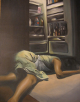 Death of a Housewife, acrylic on canvas